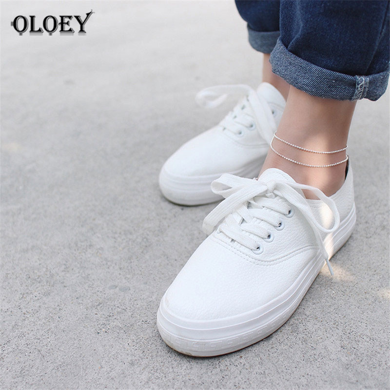 Women Elegant Double Chain Bead Anklet Bracelet Sexy Foot Ankles for Lady Girls Perfect Fine Jewelry Drop Shipping YMA011