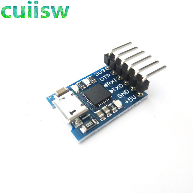 CJMCU CP2102 MICRO USB to UART TTL Module 6Pin Serial Converter UART STC Replace FT232 NEW for arduino