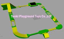 amusement inflatable water park,inflatable water trampoline bouncer game,water play equipment