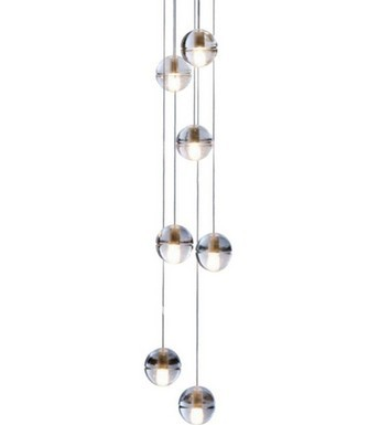 26 36 heads Modern crystal pendant lamp K9 crystal Modern Pendant Light LED crystal pendant lighting support customized order vallkin modern round led pendant light clear k9 crystal and silver stianless steel d40cm 18w ce fcc rohs