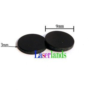 5pcs 9mm Red Blue Green Laser Filter Lens Against 405nm-445nm-532nm-660nm-750nm While Let Pass Though 808nm-1064nm YAG IR