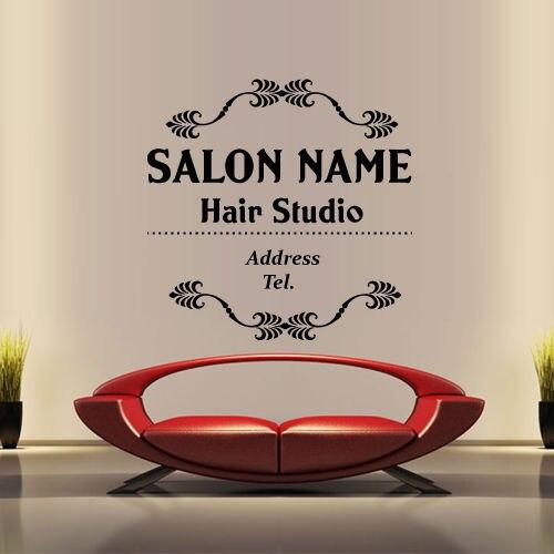 Online Get Cheap Custom Hair Salon Wall Decals Aliexpresscom - Custom vinyl wall decals cheap