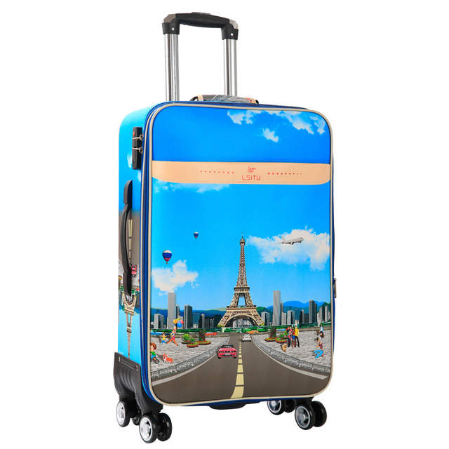 36fd00c24f50 placeholder BeaSumore Rolling Luggage Spinner Fashion Tower Suitcase Wheel  Password Cabin Trolley Carry On Travel Duffle Women