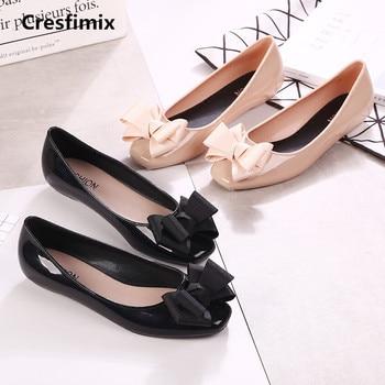 97db43e0 Zapatos planos de mujer a la moda cómodos de jalea zapatos planos bonitos  de primavera y verano para mujer a377