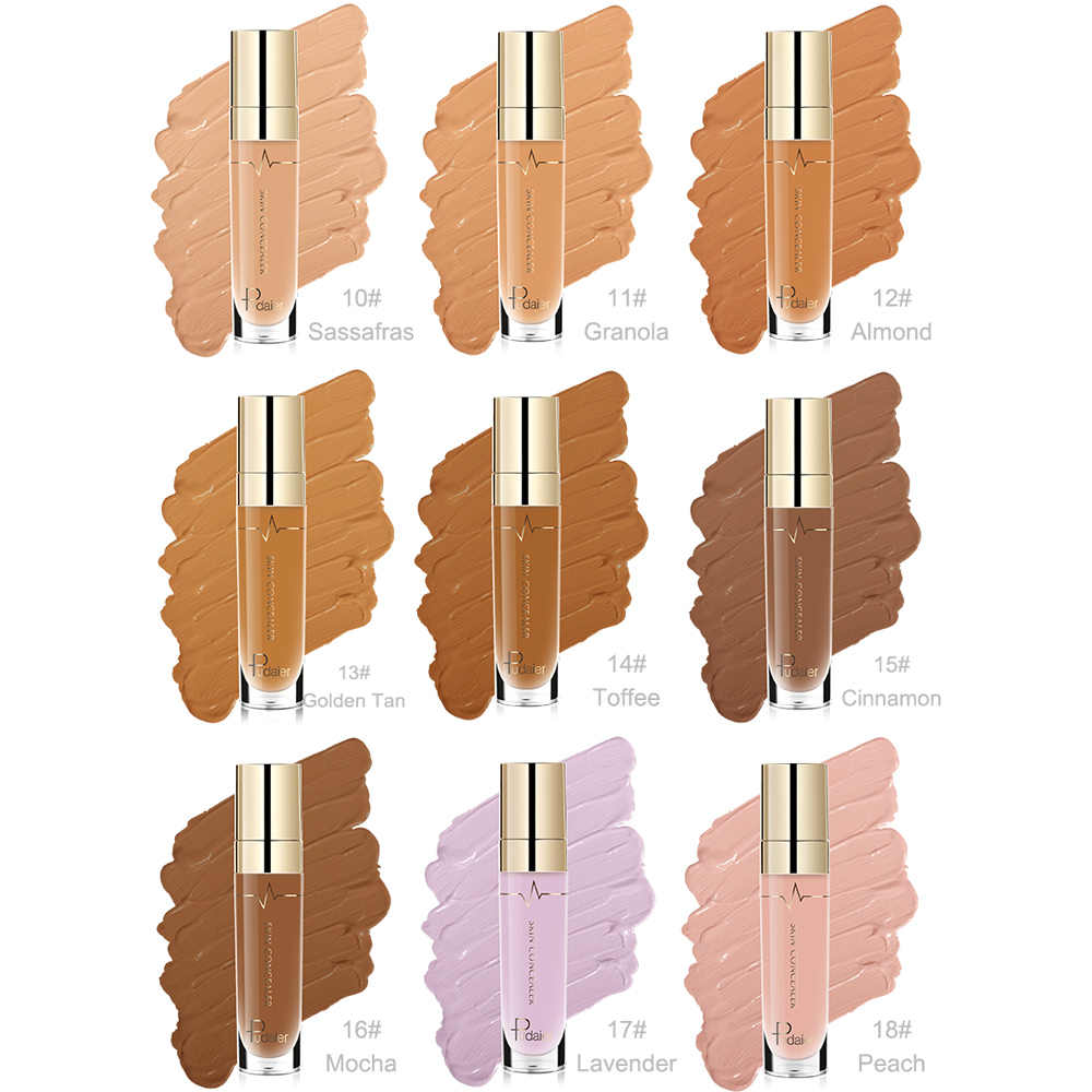 22Color Facial Concealer Skin Color Brighten Covering Spot Lightening Dark Circles Repair Makeup Concealer Pigment