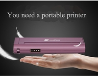 New tattoo printer Mini small portable mobile tattoo phone laptop wireless car thermal Bluetooth printer A4 thermal printer