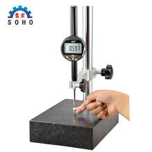 Высокоточный электронный цифровой циферблат индикатор 0,001 мм Индикатор 0-12,7 цифровой дисплей процент циферблат индикатор обработка ga