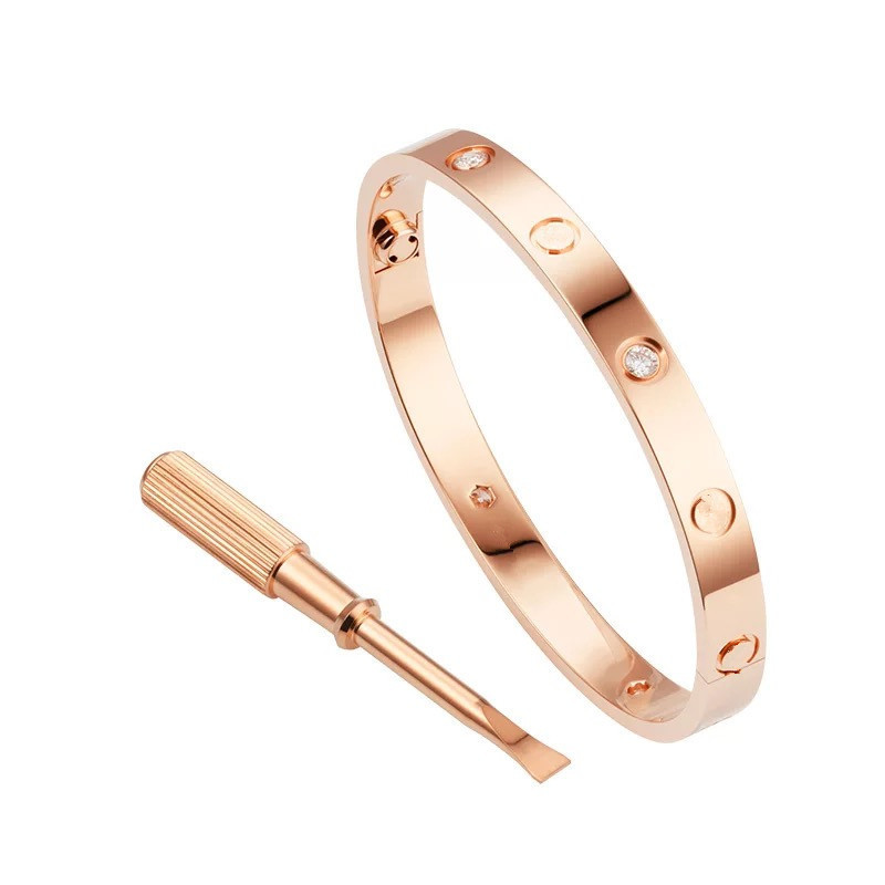 Bangles Bracelet Screwdriver Titanium Love-Style Luxury Jewelry Couple Steel 1PCS