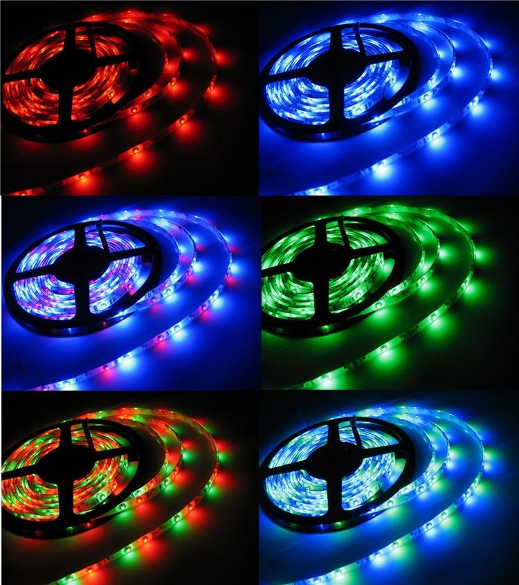 СВЕТОДИОДНЫЙ красочные огни, 5050 дистанционного управления RGB color гостиная, водонепроницаемый мягкий свет.