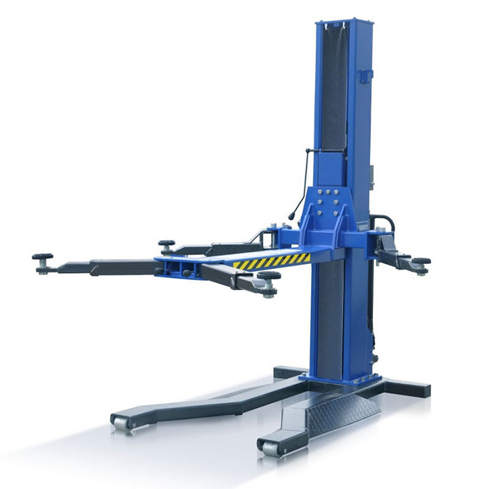 2 7 Ton Single Column Lift Moveable One Post Car Large Tonnage Lifting Machine Tons