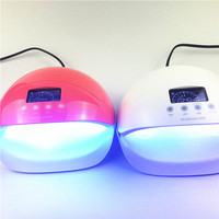 Sun5se 50W UV Lamp Nail Lamp 28pcs Leds Nail Dryer Manicure Tools LCD Display Curing Nail Gel Polish Nail Tools Red Blue light