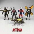 Formiga Man 5 pçs/set 12 cm Pvc Action figure toy model collection