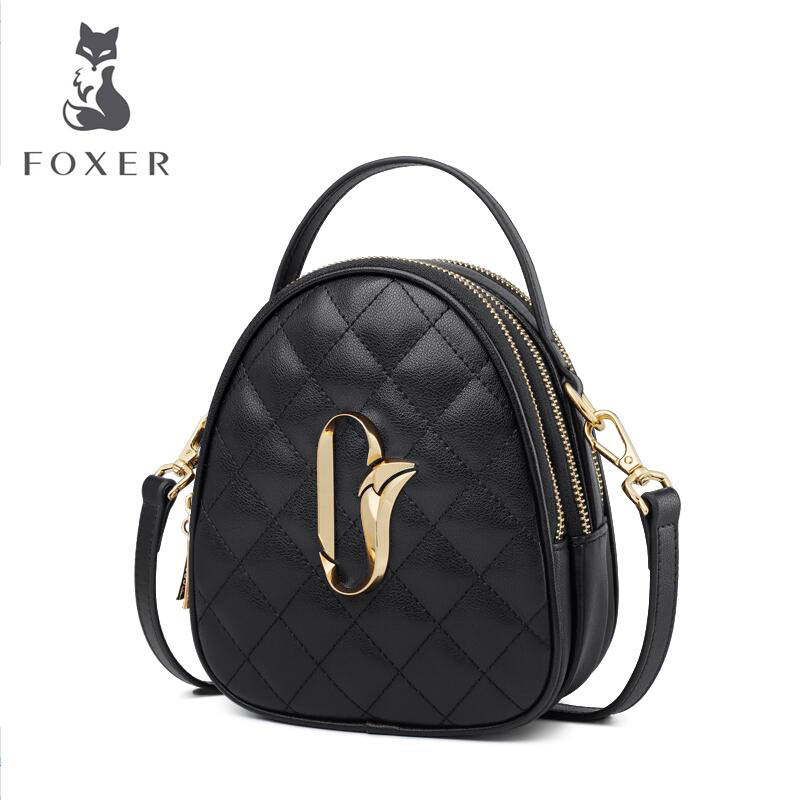 Коровья кожа сумка 2019 новая дикая маленькая аромат модная сумка мини сумка через плечо маленькая круглая сумка женская - 4
