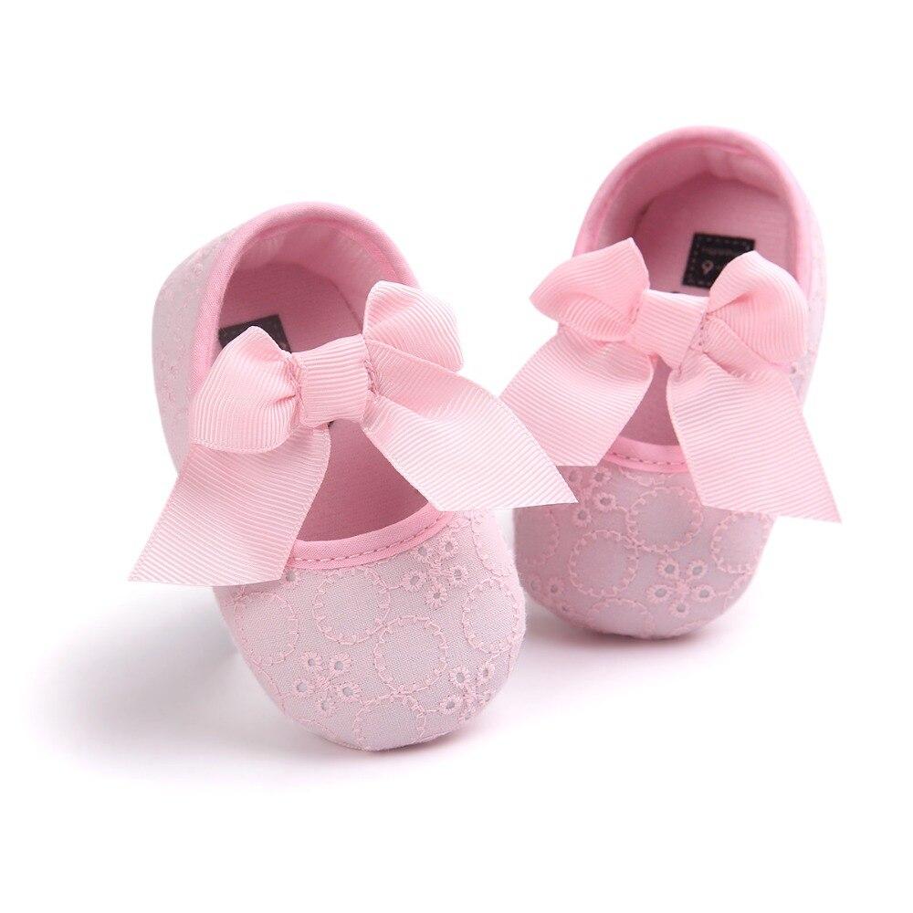 Hongteya Marke Nette Prinzessin Infant Girl Schuhe Mit Bogen schöne - Babyschuhe - Foto 3