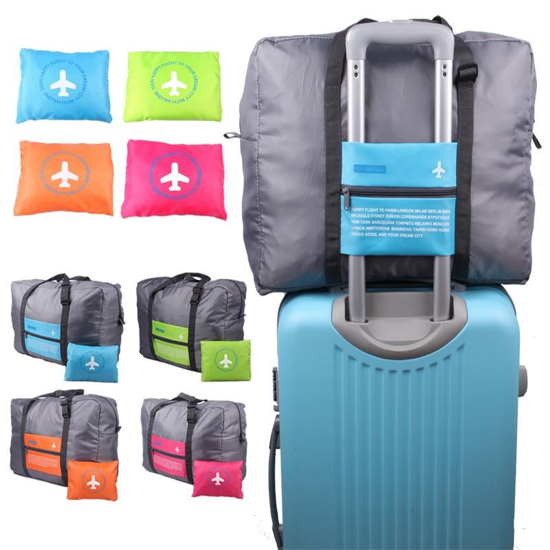 Huatiancuo Heiße Verkäufe Wasserdichte Reisetaschen Große Kapazität Reise Duffle Frauen Nylon Folding Tasche Unisex Gepäck Reise Handtaschen