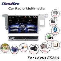 Liandlee для Lexus ES250 2012 ~ 2015 автомобильный wince радио CD плеер dvd плеер gps навигатор Карты Камера OBD ТВ Экран медиа