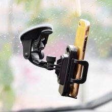 360 градусов вращающийся смартфон gps автомобильный держатель Регулируемый кронштейн для 3,5-6,5 дюймового мобильного телефона