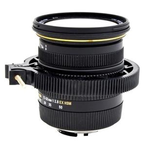 Image 2 - Ootdty abs plástico ajustável anel de engrenagem para follow focus belt 65 75 75mm para lente dslr mod 0.8
