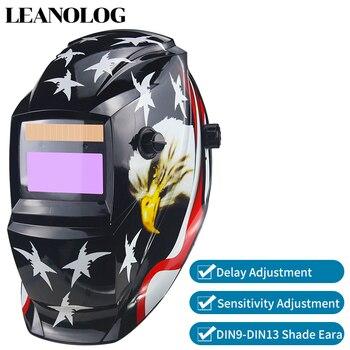 Pil/güneş enerjisi otomatik kararan TIG MIG MMA MAG KR KC elektrik kaynak maskesi/kask/kaynakçı gözlük kaynakçı için