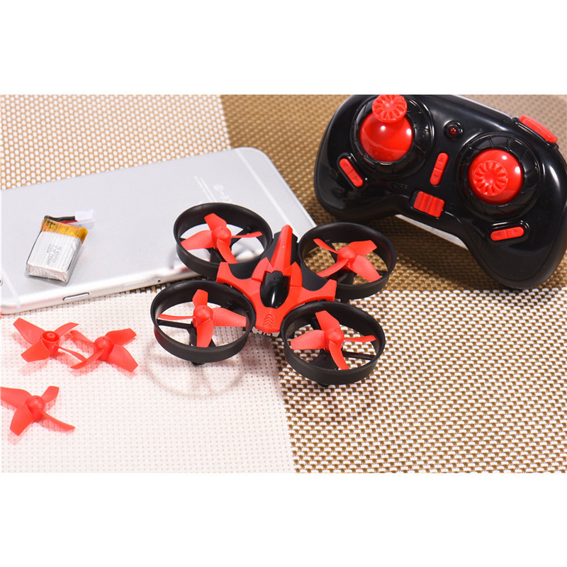 Eachine E010 Mini 2.4G 4CH 6 Axis 3D Headless Mode Memory Function RC Quadcopter RTF RC Tiny Kid Toys Present New Arrival
