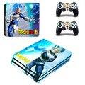 PS4 Pro Вегета Крышка Стикера Кожи Для Sony Playstation 4 Pro Консоли и Контроллеры-Dragon Ball Супер