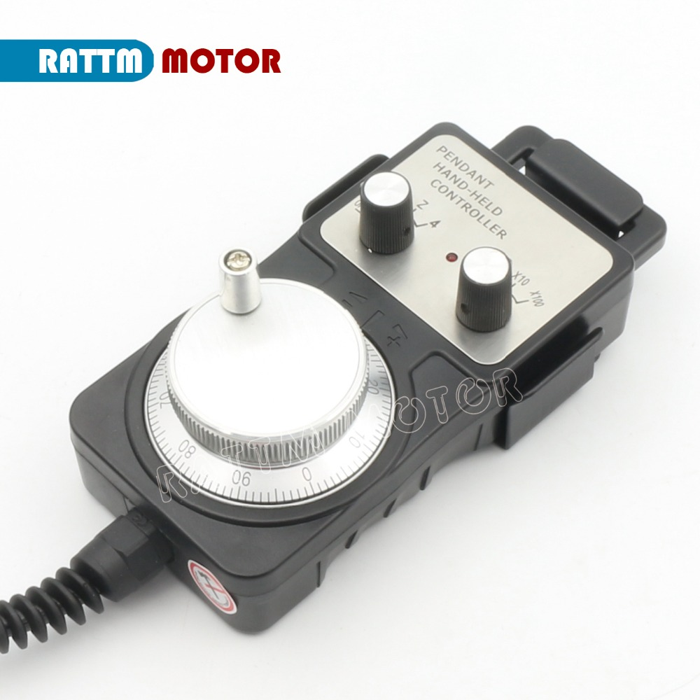 все цены на 100 Pulse 5V MPG handwheel Electronic handwheel handwheel pulse generator for lathe machine онлайн