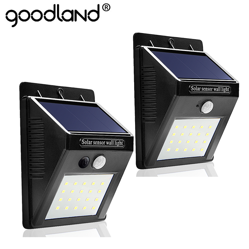 LED Garden Solar Light Waterproof Solar Lamp PIR Motion Sensor Night Light 20 LEDs Wall Lamp Solar Powered 2 Modes For Outdoor waterproof led solar light energy saving solar lamp with pir motion sensor 8 16 20 leds solar garden lights for outdoor lighting