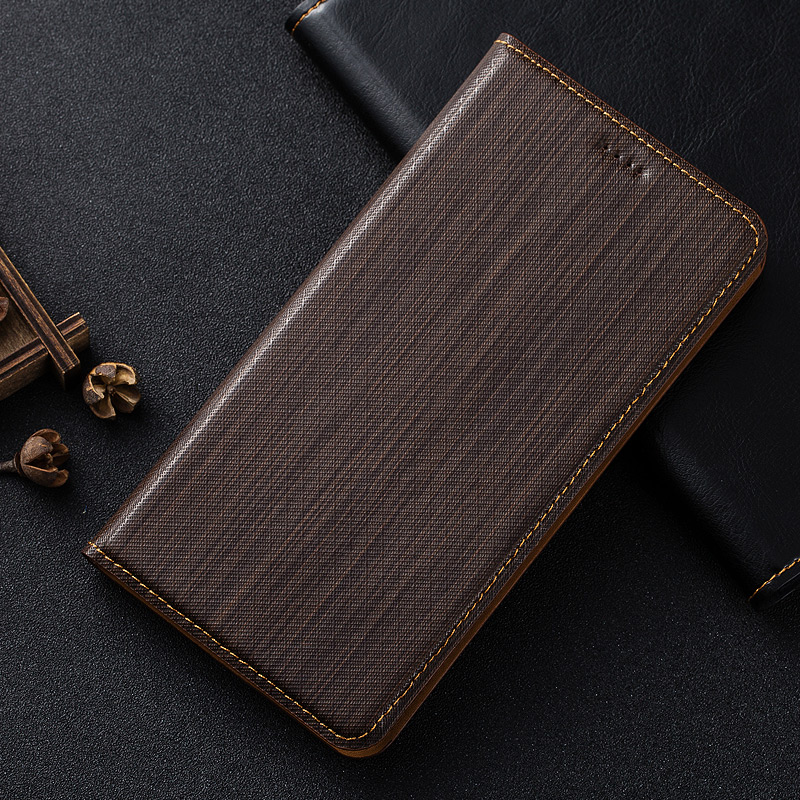 New For Huawei Honor 6X Case luxury Lattice Line Leather Magnetic Stand Flip Cover Cardholder Phone Bag