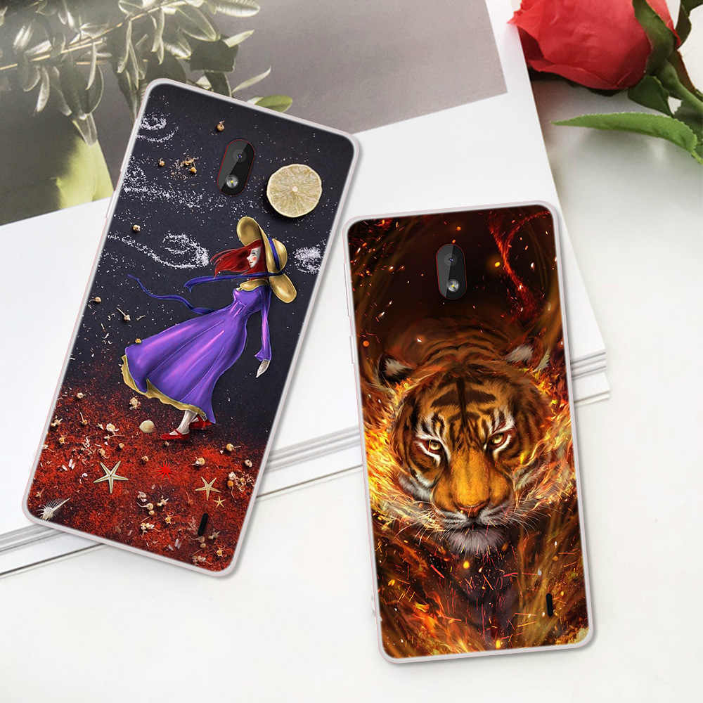 Silicon Case for Nokia 1 2 2.1 3 3.1 4.2 5 5.1 6 6.1 7 7.1 plus 2018 X5 X6 cases soft tpu back phone cover shockproof Fundas