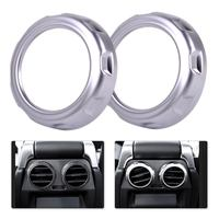 New 2pcs Rear Armrest Box Air Conditioning Trim Cover Fit For Land Rover Range Rover Sport