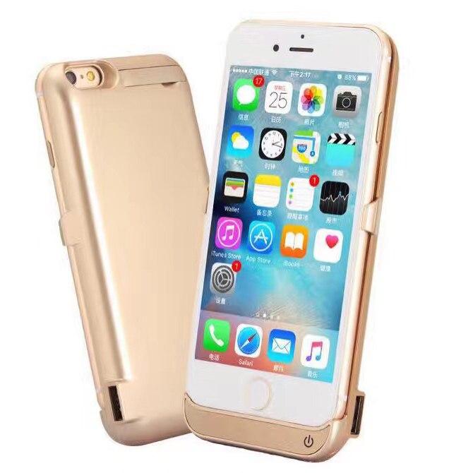 """imágenes para Extendida 10000 mah batería caso de la energía del teléfono cubiertas para apple iphone 7 iphone7 ip7 4.7 """"Cubierta de Carga Powerbank con bipedestador"""
