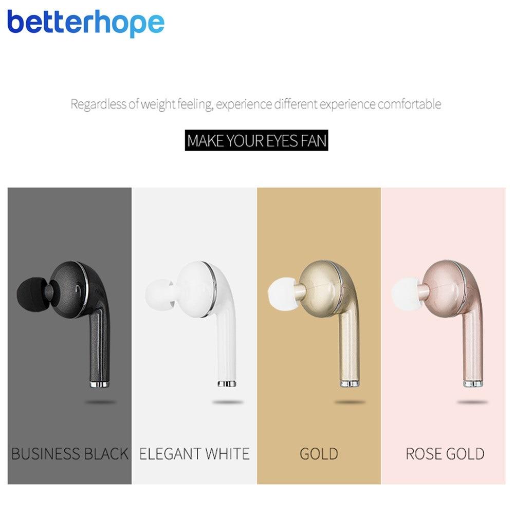 BetterHope BH-V1 2017 Moda Mini Estéreo Sem Fio Bluetooth Fone de - Áudio e vídeo portáteis