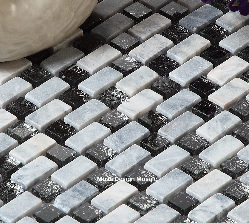Remarkable Us 239 99 White Stone Brick Black Crystal Glass Mosaic Tiles For Kitchen Backsplash Bathroom Fireplace Wall Tile Diy Home In Wallpapers From Home Download Free Architecture Designs Embacsunscenecom