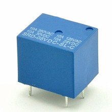 цена на 3V 5V 9V relay 12v relay 24v 10A five feet one pair conversion 5PCS/LOT free shipping