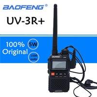 Baofeng UV 3R Plus Walkie Talkie UHF VHF Mini UV 3R+ Portable CB Radio VOX Flashlight FM Transceiver Ham Radio Amador UV3R