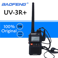 Baofeng UV 3R Plus Walkie Talkie UHF VHF Mini UV 3R+ Portable CB Radio VOX Flashlight FM Transceiver Ham Radio Amador UV3R