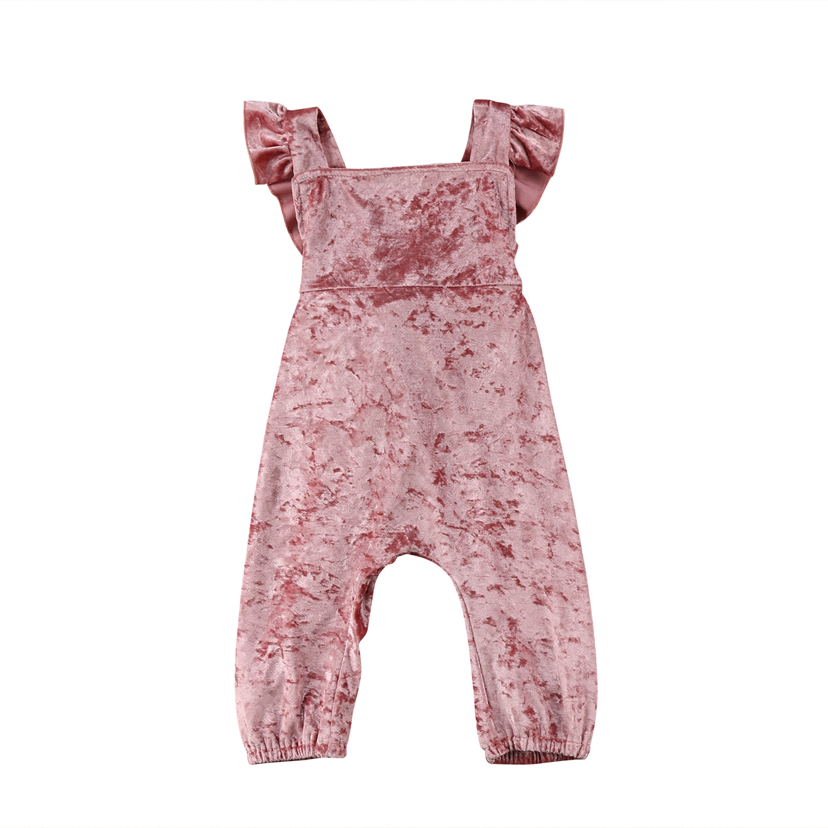 40d774b3ad3f Detail Feedback Questions about 2018 Fashion Newborn Baby Girls Velvet Pink  Romper Crosee Jumpsuit Clothes Summer Casual Outfits on Aliexpress.com