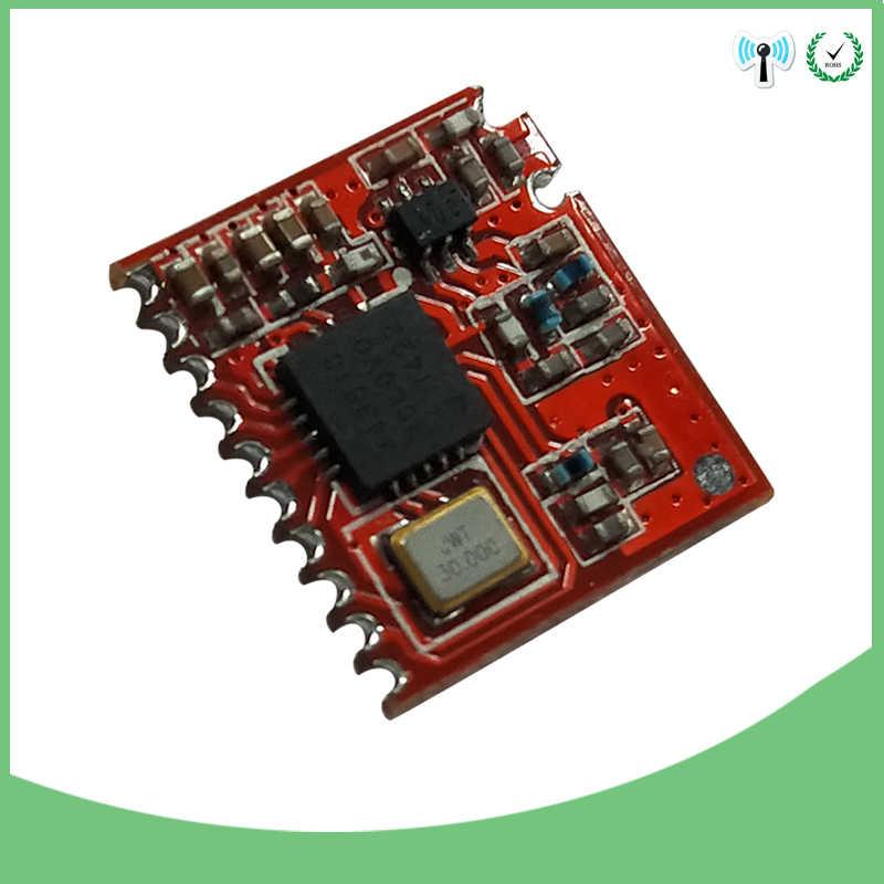 Módulo de 433mhz si4463 transmisor-receptor de comunicaciones y transmisor de larga distancia longo alcance