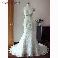 Plus Size Mermaid Wedding Dress Hand Made Full Beading Africa Sexy Wrap Vestidos De Novia Lace