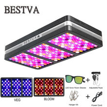 BestVA LED grow light Elite-2000W Full Spectrum for indoor plants replaced 1400W HPS light veg bloom mode greenhouse Hydroponic
