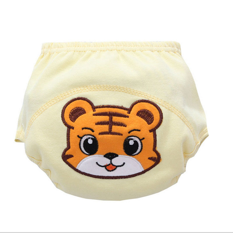 Creative New Baby Learning Pants Waterproof Panties 100% Baby Cotton Training Pantscloth Diaper Baby Washable Diapers
