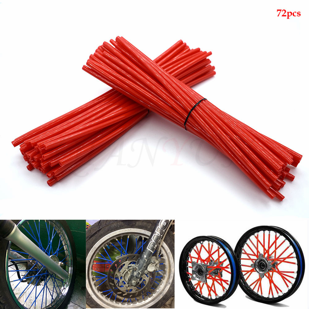 Motorcycle Spoke Skins Wheel Rim Wrap Tubes Cover  For Ducati 749 999 1098 1198 S R 749/S/R 999/S/R 1198S/R 848 EVO S4RS