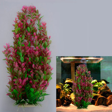 Fish Tank Ornament Simulation Underwater 46cm Water Plant Aquarium Plastic Decoration
