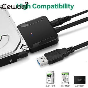 Image 1 - Câble de convertisseur USB 3.0 à IDE SATA convertisseur de disque dur Jms578 adaptateur de câble de convertisseur HDD Sata à Usb3.0 cuivre