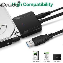 Кабели преобразователи USB 3,0 на IDE SATA, конвертер жестких дисков Jms578, переходник для кабеля HDD Sata на Usb3.0, медь