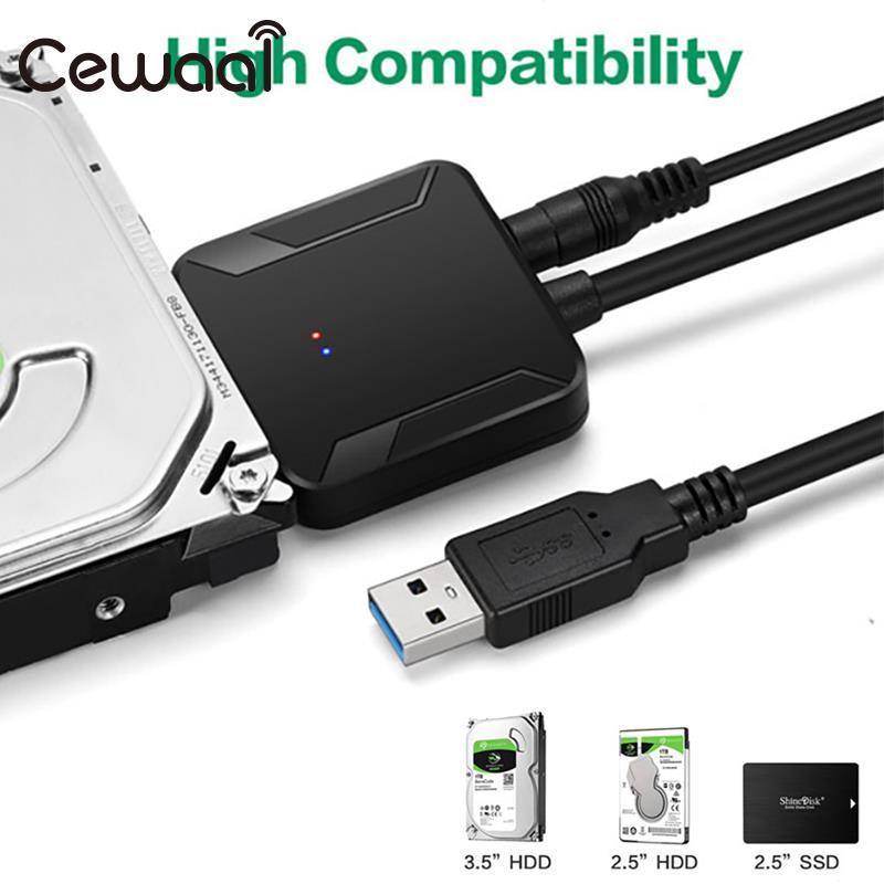 USB 3.0 To IDE SATA Converter Cables Hard Drive Converter Jms578 Converter Cable Adapter HDD Sata To Usb3.0 Copper