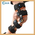 ROM Adjustable Hinged Knee Braces Support Orthosis Splint Medical Orthopedic Prevent hyperextension Knee joint lateral stability