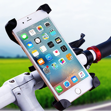 Anti-Slip Universal 360 Rotating Bicycle Bike Phone Holder Handlebar Clip Stand Mount Bracket For Mobile Cellphone iPhone Xiaomi