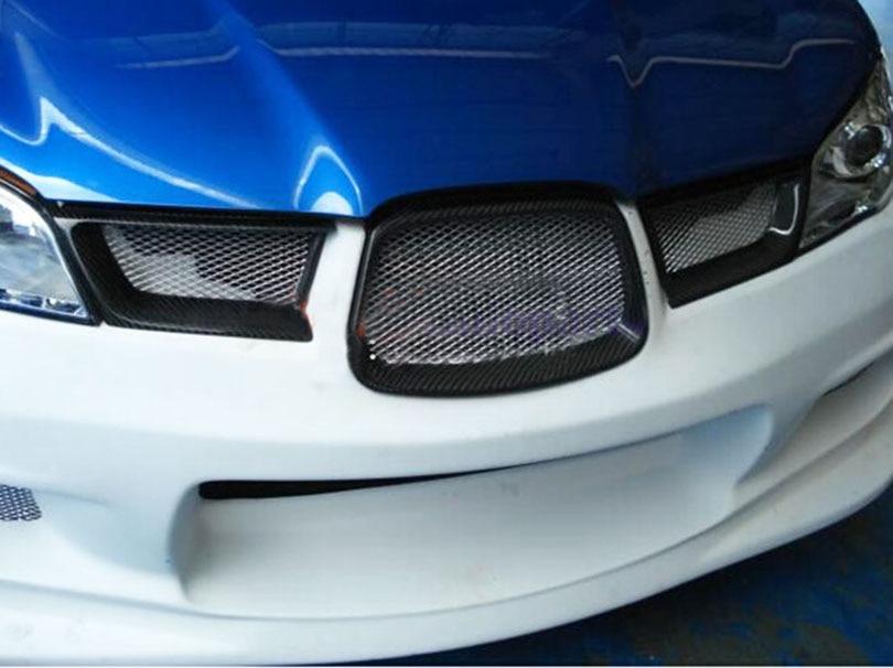 subaru carbon fiber grille