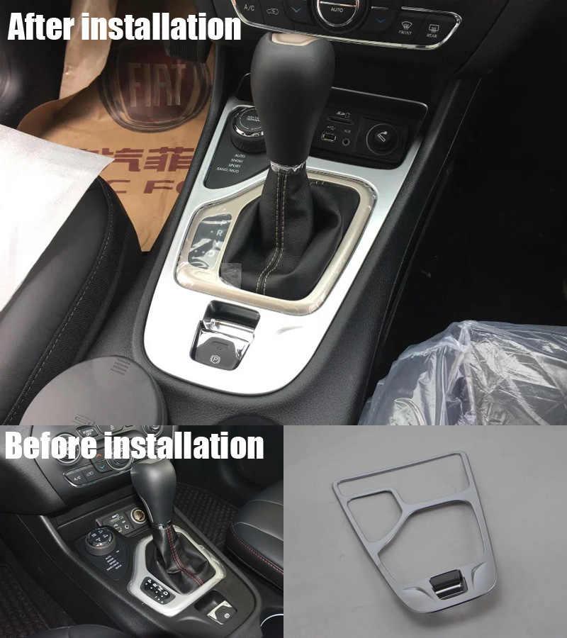 Супер Качество ABS Хромирование Автомобилей Переключения Передач Панели